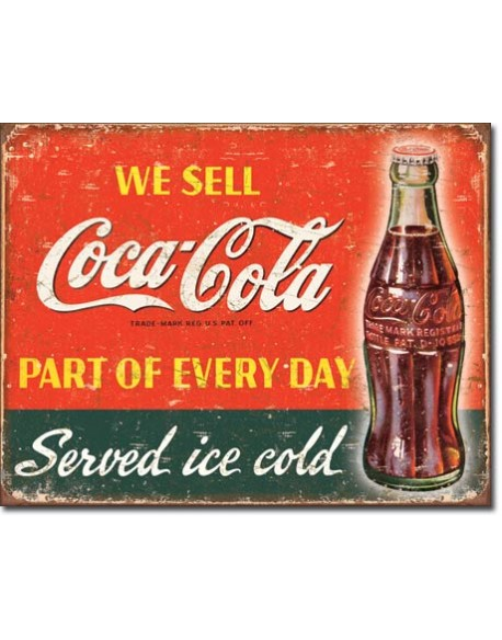 Tin Sign, Coca-Cola, Part Of Every Day
