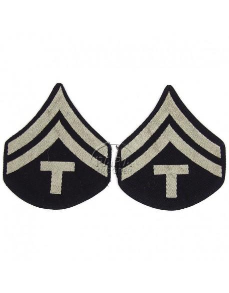 Grades en tissu de Caporal Technicien T/5