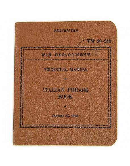 Italian Phrase Book, 1943