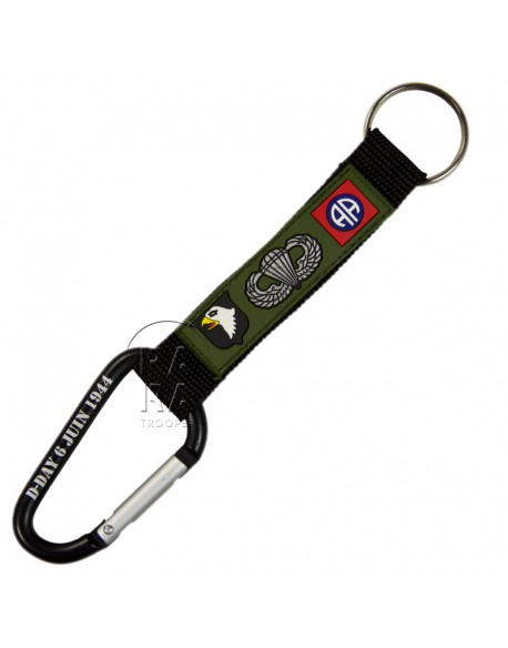 Key Chain,snap link, airborne