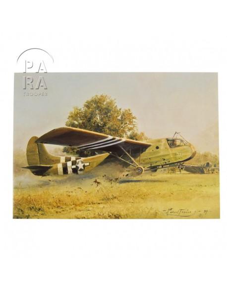 Carte commémorative, Crash landing