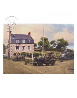 Card, Commemorative, Dead Man's Corner