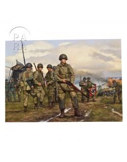Carte commémorative, Easy Company - The spoils of war