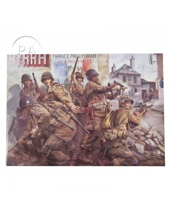 Carte commémorative, Easy Company - The taking of Carentan