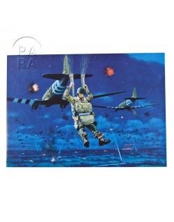 Carte commémorative, Hour of liberation