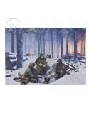 Card, Commemorative, The hell that was Bastogne