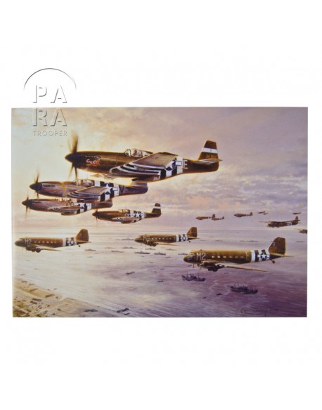 Carte commémorative, D-Day The Airborne Assault