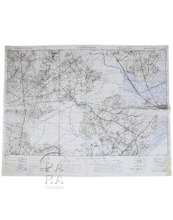 Carte de Carentan, Avril 1944