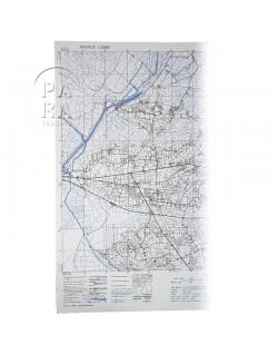 Map, US Army, Carentan / Isigny