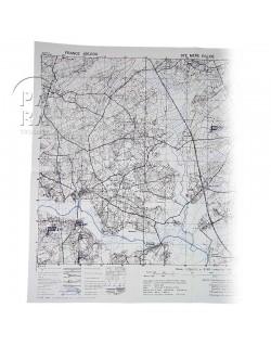 Map, Sainte-Mere-Eglise