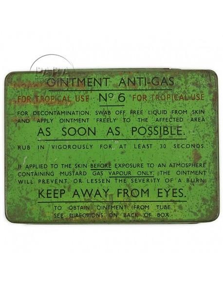 Box, Ointment, N°6, Tropical use
