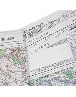 set, 5 US Army maps, Airborne area