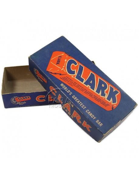Boite de chocolat, Clark
