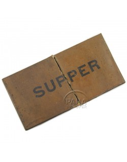 Ration, K, Supper, 1944