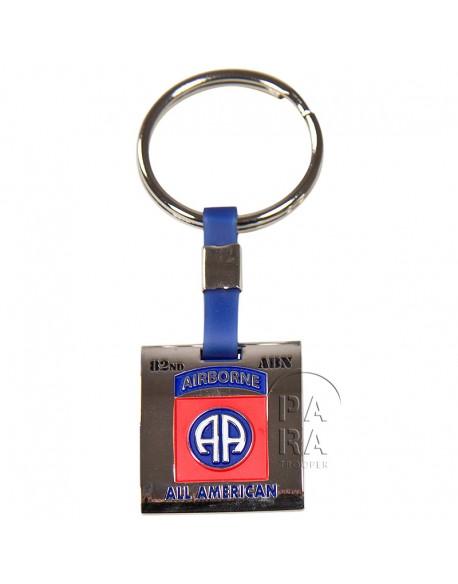 Porte-clés 82e Airborne Division, carré