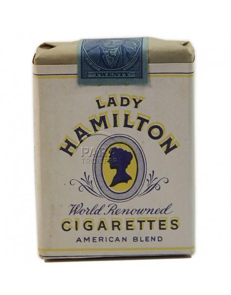 Paquet de cigarettes Lady Hamilton