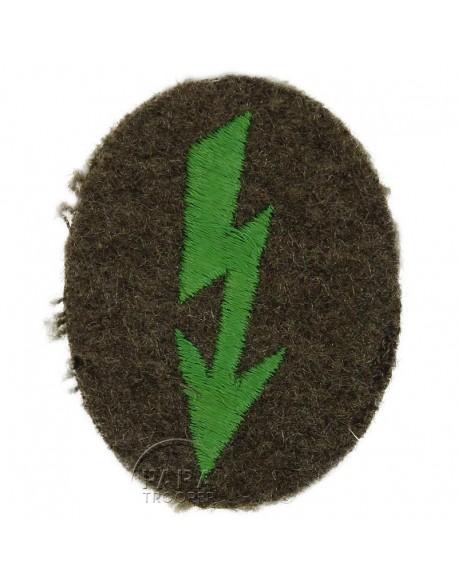 Badge, Specialist, Nachrichten, Embroidered