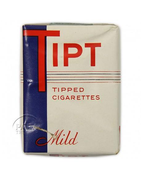 Paquet de cigarettes Tipt, 1942