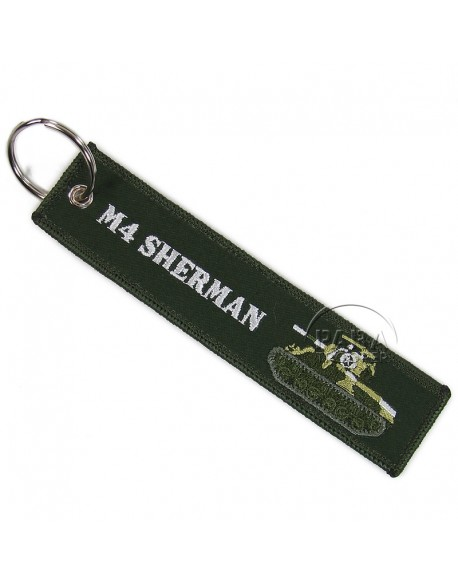 Key Ring, M4 Sherman