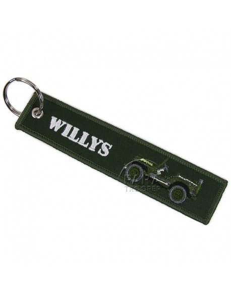 Key Ring, Jeep Willys