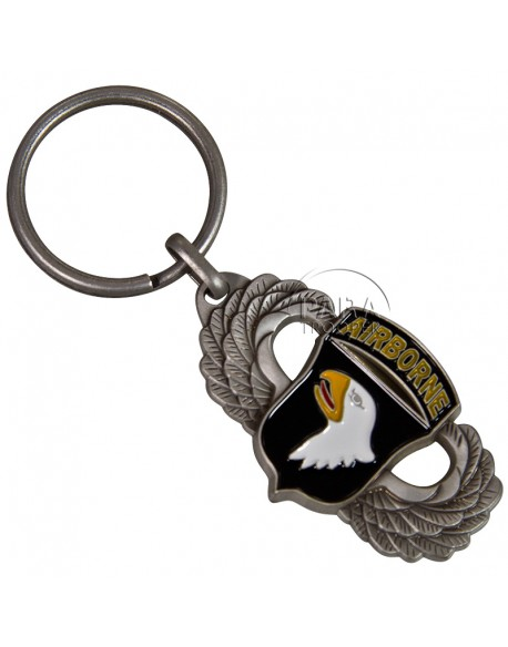 Key chain, jumpwings, 101st Airborne Division