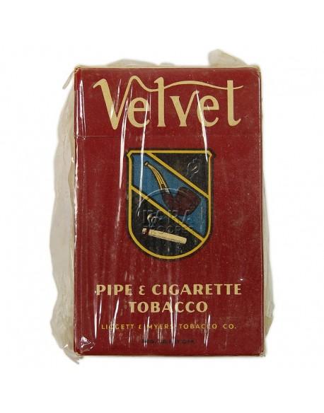 Box, American Tobacco, Velvet