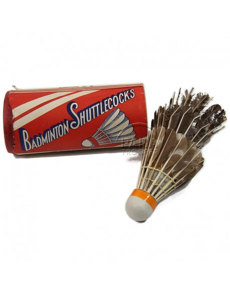 Shuttlecocks, Badminton
