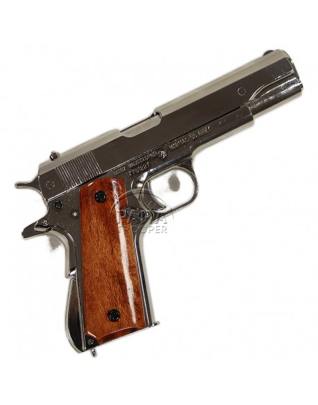 Colt M1911 A1, Chrome-plated, Removable