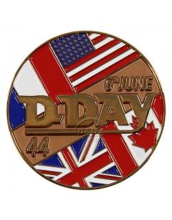 Pièce commémorative D-Day