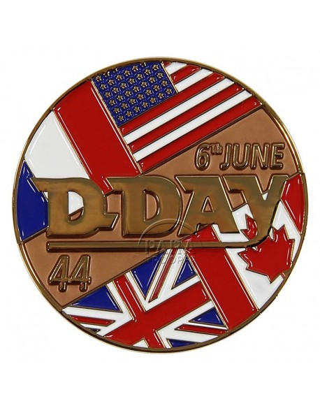 Coin, Comemorative, D-Day