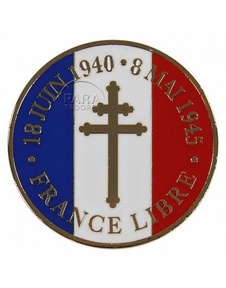 Coin, Comemorative, France Libre