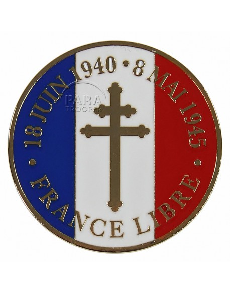 Pièce commémorative, France Libre