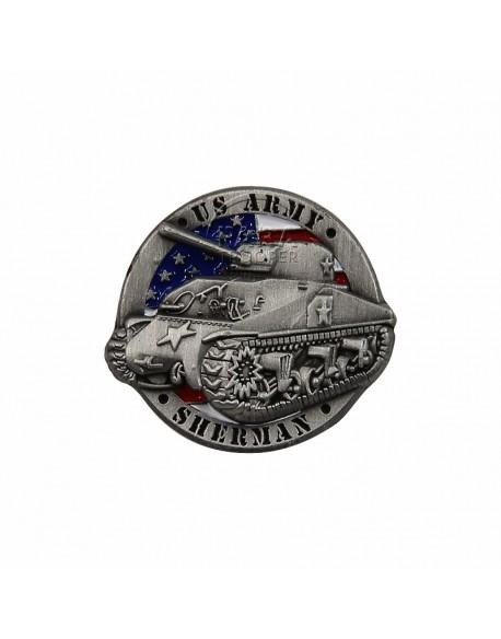 Pin's US Army Sherman