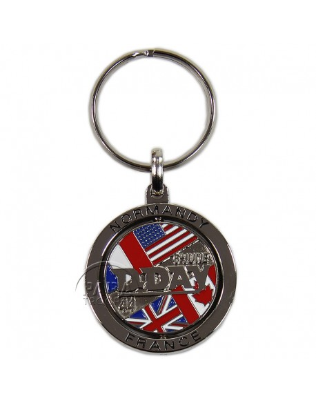 Porte-clés D-Day, rotatif