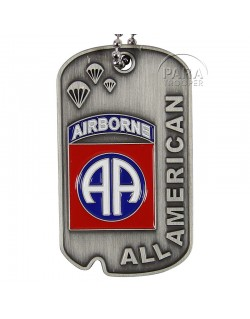 Tag, Identity, 82nd Airborne