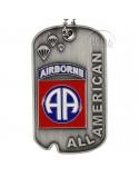 Plaque d'identité 82e Airborne Division