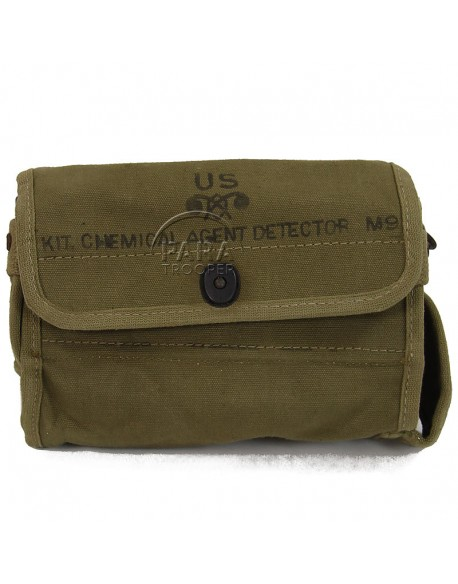 Kit détecteur d'agent chimique M9