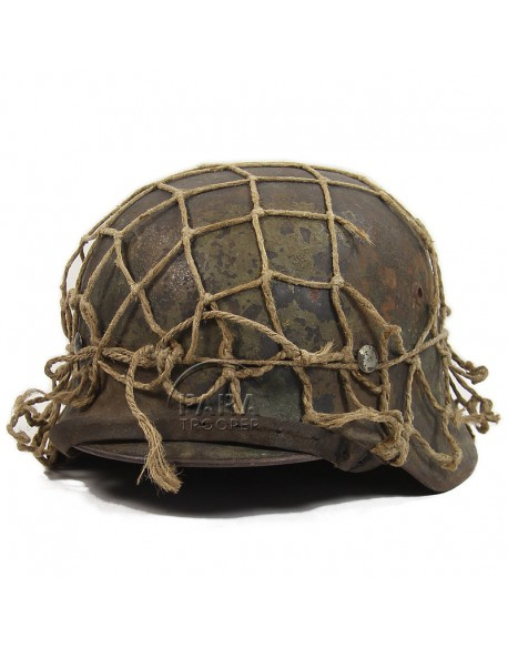 Casque M40, camouflé et filet d'origine