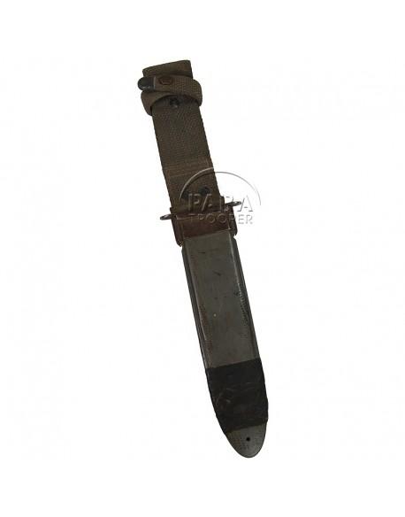 Scabbard, bakelite, for K-Bar or USN MK 2 knive