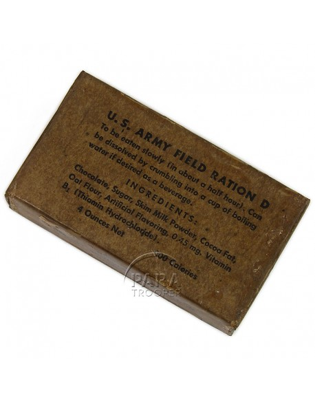 Ration type D, Hershey