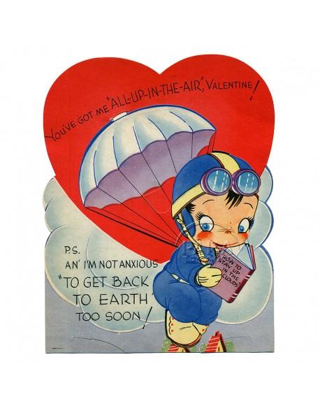 Card, US Army Valentine day