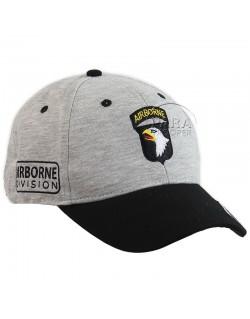 Casquette 101e Airborne, grise