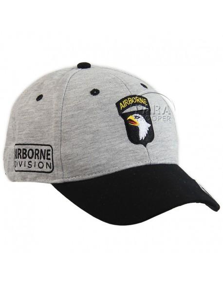 Cap, Baseball, 101st Airborne, grey