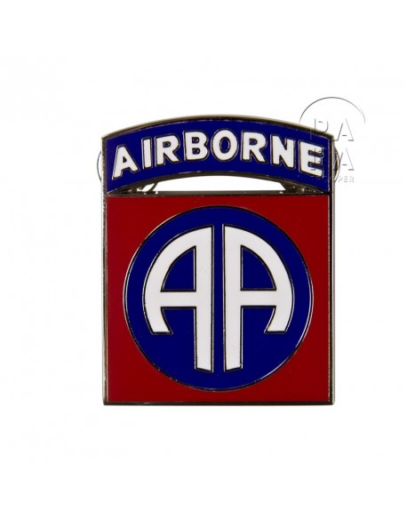 Crest (Large), 82nd Airborne
