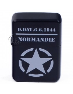 Lighter, type ZIPPO, D-Day