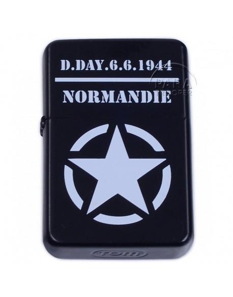 Lighter, type ZIPPO, D-Day