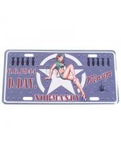 Postal plaque, Pin-Up Air Force
