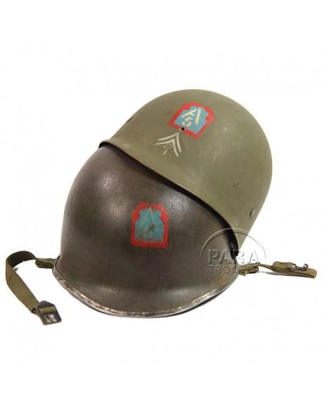 Helmet USM1, 5th Army