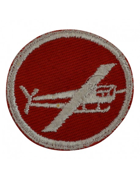 Patch, Cap, Glider artillery or engineer, for officer