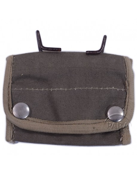 Pouch, canvas, compass, snap model